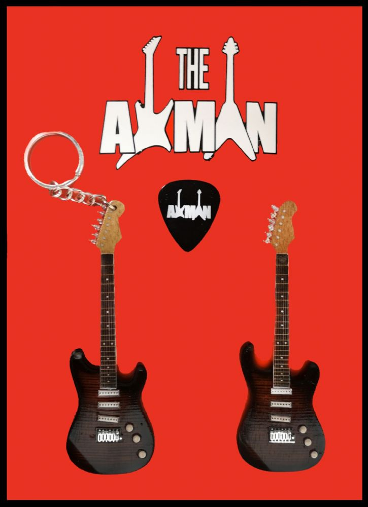 John Petrucci (Dream Theater): JP7 Music Man: Keyring & Magnet Variation (UK Seller)